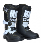 Kids Cub Max Junior Boots Black White